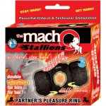 Macho Partners Pleasure Ring (Black)
