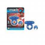 Macho Pulsating Remote Control Ring-Blue