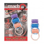Macho Three Ring Set (Assorted)