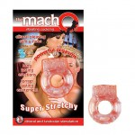 Macho Vibrating Cockring (Peach)