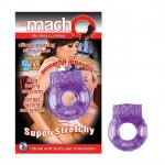 Macho Vibrating Cockring (Purple)