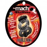 Macho: Vibrating Double Ring (Black)