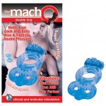 Macho: Vibrating Double Ring (Blue)
