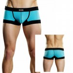 Male Power Athletic Mesh Sport Mini Short Turquoise Small