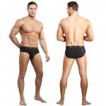 Male Power Bamboo Thruster Bikini Black Large