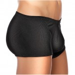 Male Power Cotton Rib Pouch Shorts Large
