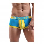 Male Power Futbol Attacker Mini Short Turquoise/Yellow L