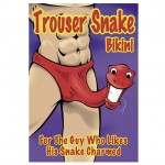 Male Power Trouser Snake Bikini Underwear