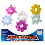 Mega Stretch Ring Asst Colors (Open Stk)