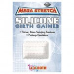 Mega Stretch Silicone Girth Gainer Clear
