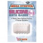 Mega Stretch Silicone Girth Gainer Plus Clear