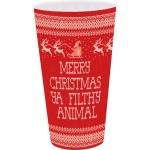 Merry Christmas Ya Filthy Animal Christmas Plastic Cup