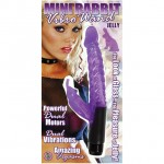 Mini Rabbit Vibro Wand (Purple)
