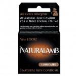 Naturalamb Lubricated Condoms