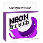 Neon Fun Cuffs - Purple