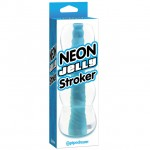 Neon Jelly Stroker Blue