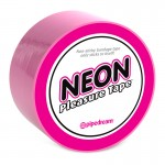 Neon Pleasure Tape Pink