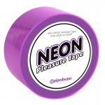 Neon Pleasure Tape Purple