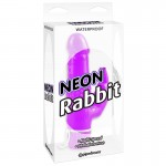 Neon Rabbit Vibe - Purple