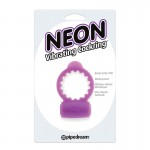Neon Vibrating Cockring Purple