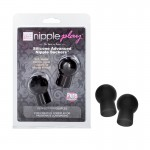 nipple play Silicone Advanced Nipple Suckers - Black