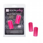 nipple play Silicone Nipple Suckers - Pink