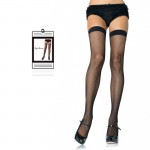 Nylon Fishnet Stocking O/S Black