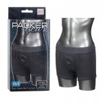 Packer Gear Black Boxer Harness - XS/S