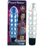 Pearl Sheens Ribbed (White)