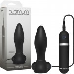 Platinum - The Touch Vibrating Plug Black
