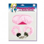 Pleasure Cuffs With Satin Mask