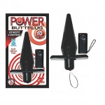 Power Buttplug Remote Control (Black)