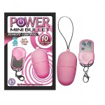 Power Mini Bullet with Remote Control (Pink)