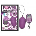Power Mini Bullet with Remote Control (Purple)
