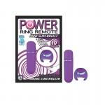 Power Ring Remote Mini Slim Bullet-Purp