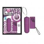 Power Slim Bullet Remote Control (Purple)