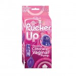 Pucker Up Vibe/Clit/Vag Pump MS (Purple)