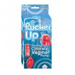 Pucker Up Vibe/Clit/Vag Pump MS (Red)