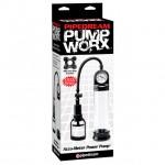Pump Worx Accu-Meter Power Pump Black