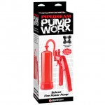 Pump Worx Deluxe Fire Power Pump Red
