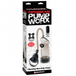 Pump Worx Vibrating Sure-Grip Pump Black