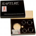 Rapture Stainless Steel 5pc Restraint Set Large