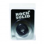 Rock Solid 2X Black Donut C Ring in a Clamshell