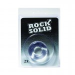 Rock Solid 2X Clear Donut C Ring in a Clamshell