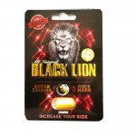 Rock Solid Black Lion Male Supplement 1 pill pack