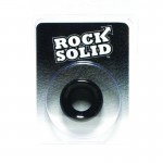 Rock Solid Convex Black C Ring in a Clamshell
