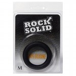 Rock Solid Silicone Black C Ring, Medium (1 7/8in) in a Clamshell