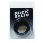 Rock Solid Silicone Black C Ring, Small (1 3/4in) in a Clamshell