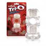 Screaming O Tri-O Triple Pleasure Ring (6 per Box)