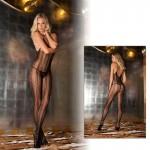 Seductive Lace Bodystocking Black O/S